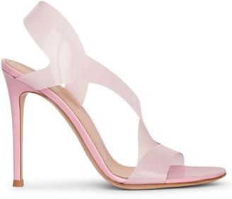 Gianvito Rossi Metropolis 105 PVC sandals