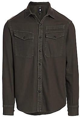 G Star Men's Button-Down Pocket Shirt