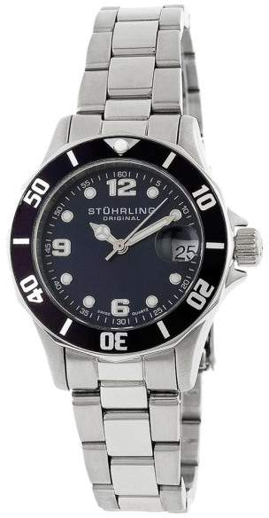Stuhrling Original Clipper 157.111113 Stainless Steel 33mm x 36mm Watch