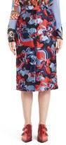 Emilio Pucci Women's Floral Fil Coupe Skirt