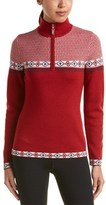 Neve Gina 1/4-zip Wool Sweater.