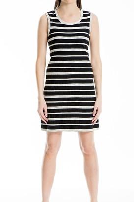Max Studio Stripe Knit Sheath Dress