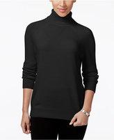 Karen Scott Petite Luxsoft Turtleneck Sweater, Only at Macy's