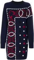 Sacai embroidered dress