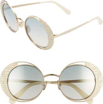 Roberto Cavalli 53mm Round Sunglasses
