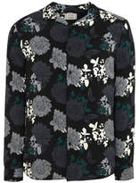 George Black and Grey Floral Long Sleeve Shirt