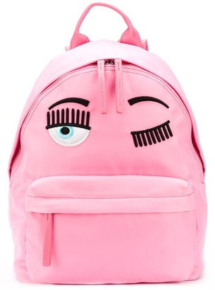 Chiara Ferragni Winking Eye Backpack