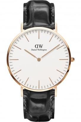 Daniel Wellington Mens Classic 40mm Reading Watch DW00100014