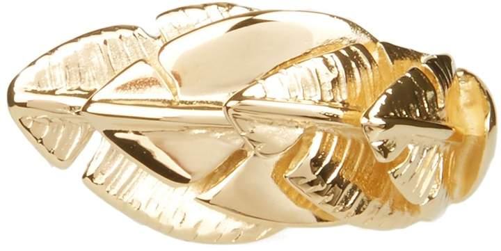 Aurelie Bidermann Talitha gold-plated ring