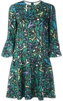 Valentino printed mini dress - women - Silk - 38