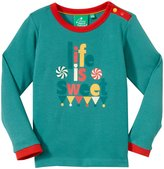 Little Green Radicals Life Is Sweet Tee (Toddler/Kid) - Blue-1-2 Years