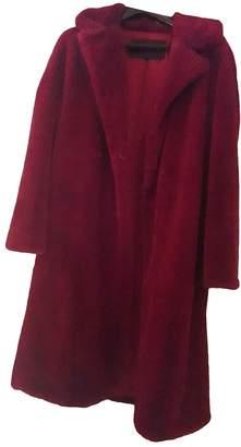 Tara Jarmon Red Faux fur Coat for Women