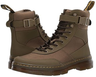 Dr. Martens Combs Tech Tract (DMS Olive Extra Tough Nylon/Ajax) Boots