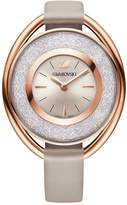 Swarovski Crystalline Oval White Crystal & Rose Watch 5158544
