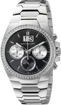 Wittnauer Men's WN3049 30mm Stainless Steel Silver Bracelet Watch