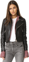 DSQUARED2 Leather Sports Jacket