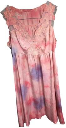 Replay Pink Silk Dress for Women