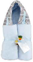 Swankie Blankie Arrow Hooded Towel, Blue/Slate