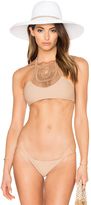 Bettinis Crochet Halter Bikini Top