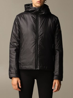 Love Moschino Jacket Down Jacket In Nylon With Hood