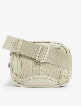 Kenzo Logo-print nylon cross-body bag