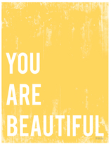 You are Beautiful (Canvas)