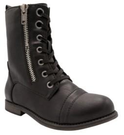 Sugar Women's Jacey Lace-Up Combat Boots Women's Shoes