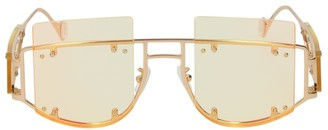 Fenty Antisocial 47MM Geometric Sunglasses