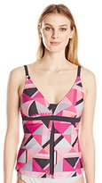 Free Country Women's Beach Tile Fly Away Tankini
