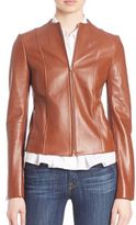 Theory Ozzane Wilmore Leather Jacket