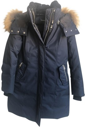 Mackage Navy Cotton Jacket for Women