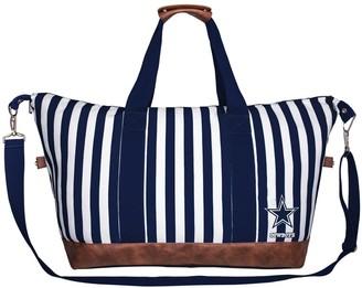 Unbranded Women's Dallas Cowboys Striped Weekender Bag