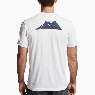 James Perse Aspen Mountains Graphic Tee