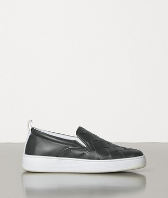 Bottega Veneta Sneakers In Maxi Intreccio Calf