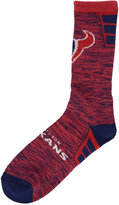For Bare Feet Houston Texans Jolt Socks