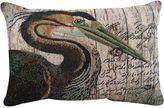 B. Smith Park Crane Throw Pillow