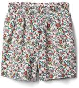 Gap Floral pull-on shorts