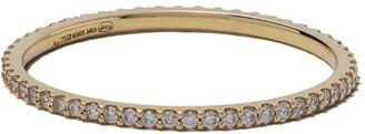 White Bird 18kt gold diamond Solange ring