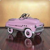The Well Appointed House Dexton Pink Comet Sedan Pedal Car for Kids - Out of Stock Until 2017