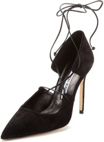 Manolo Blahnik Ikera Pointed-Toe Pump