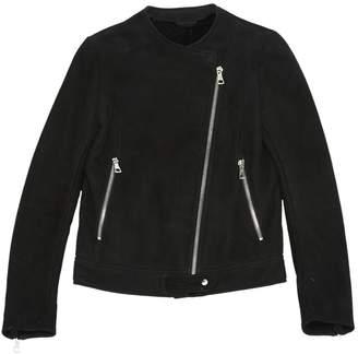 Maison Margiela Black Leather Jackets
