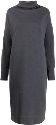 Brunello Cucinelli colour block sweatshirt dress