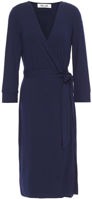 Diane von Furstenberg Stretch-jersey Wrap Dress