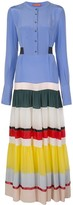 Altuzarra Lobelia colour block dress