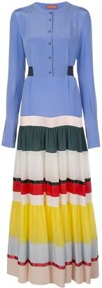 Altuzarra Lobelia colour block dress