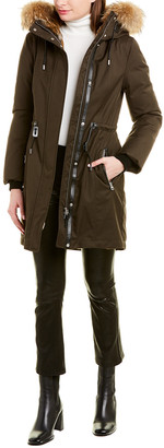 Mackage Anabel Leather-Trim Parka