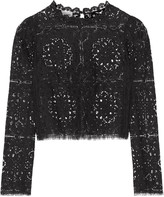 Temperley London Nomi lace top