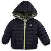 Armani Junior Armani Boys' Reversible Down Puffer Jacket - Sizes 12-36 Months
