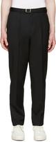 John Lawrence Sullivan Johnlawrencesullivan Black High-Rise Trousers