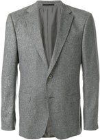 Z Zegna tweed two button blazer